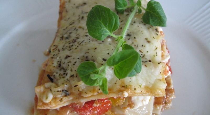Try Gluten Free Vegetarian Lasagne