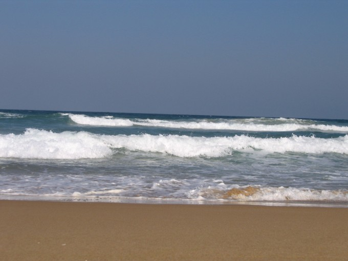 A part of Life's Journey - watching the waves roll in