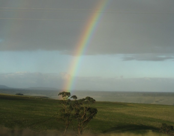 A part of Life's Journey - finding the end of the rainbow