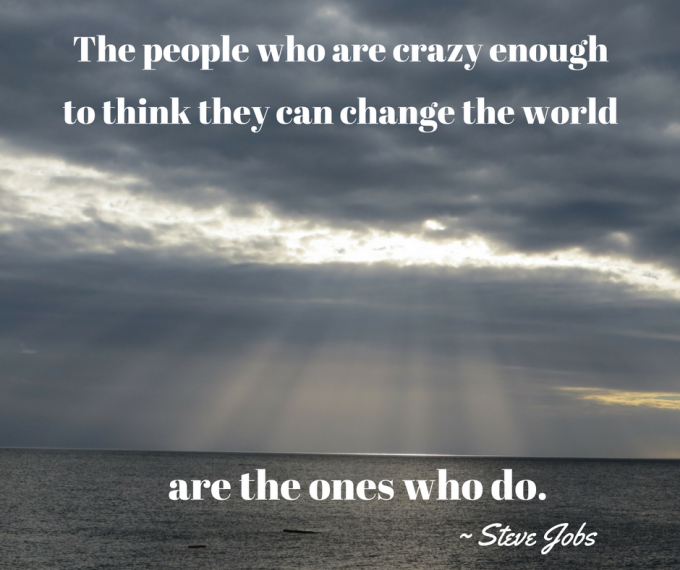 The people who are crazy...