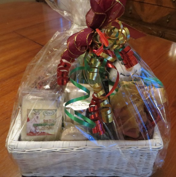 """A """"Bathroom"""" gift basket -~lots of choices here"""