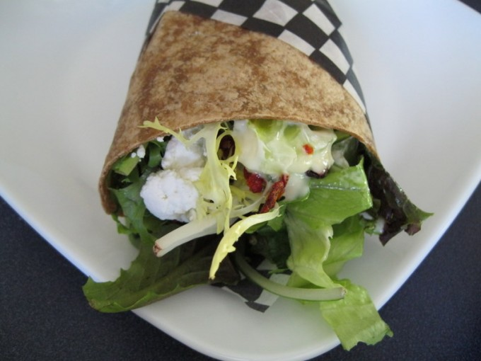 Wraps a great food idea