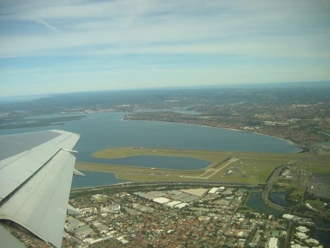 Arriving Sydney