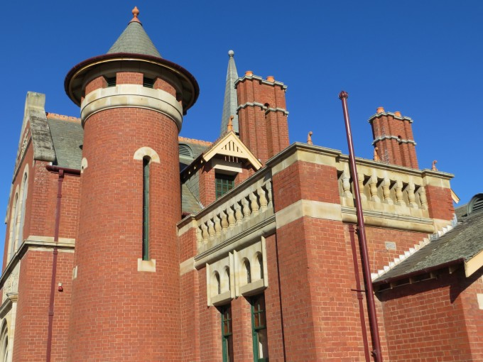 Extremely impressive Court House Bairnsdale Circa 1868