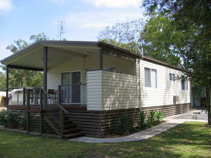 A visit to historic gold mining town ballarat australia for Self contained cabin