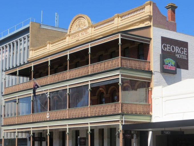 George Hotel - one of Ballarat's first buildings