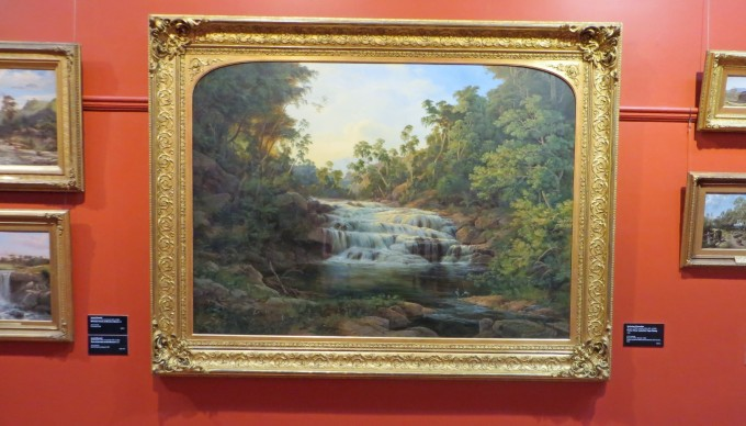 Ballarat Art Gallery display