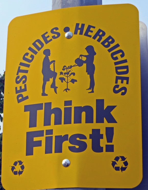 Herbicides Pesticides ~ Think (of our children) first!