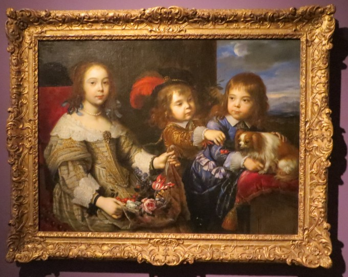 The Children of the Duc de Bouillon, 1647 by Pierre Mignard (French, 1612 - 1695) Honolulu Museum of Art