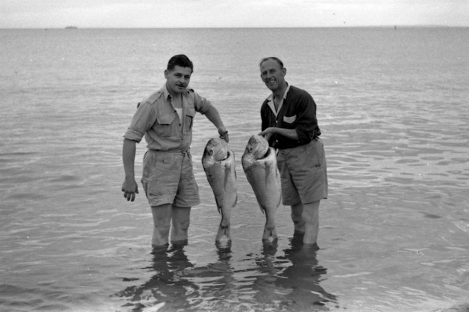 Those were the days my friends ... Snapper fishing Australia 1950's (Family Guest Photo with thanks