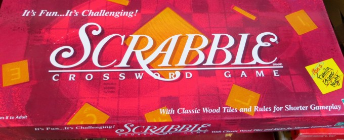 Scrabble - the always popular crossword game of words not a riddle