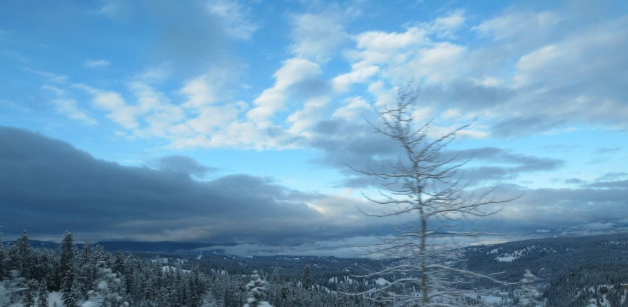 A Winters Drive across Southern B.C.