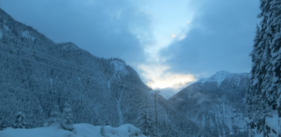 A Winters Drive Across Southern B.C. #2