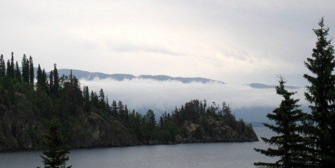 """""""The True North strong and free"""" - North of 54 (latitude), Babine Lake"""