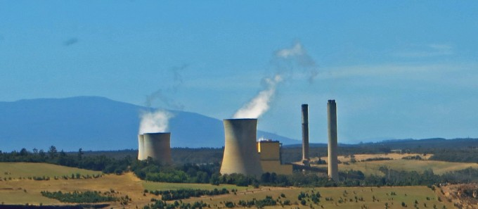 Yallourn Brown Coal Power Plant, Victoria, Australia