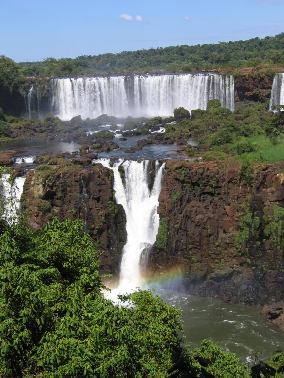 Iguazu Falls (Argentina and Brazil boundary) - New 7th Wonder of the World (guest photo)