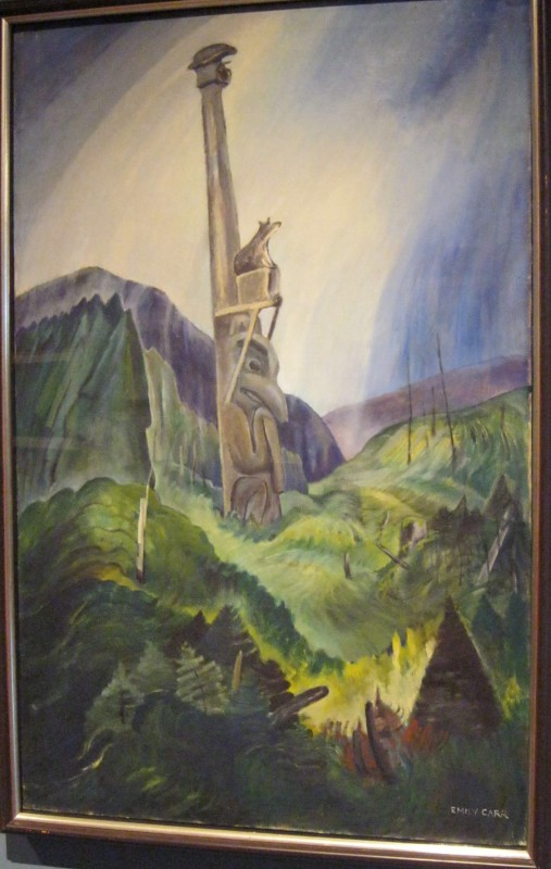 Emily Carr original art - Victoria Art Gallery