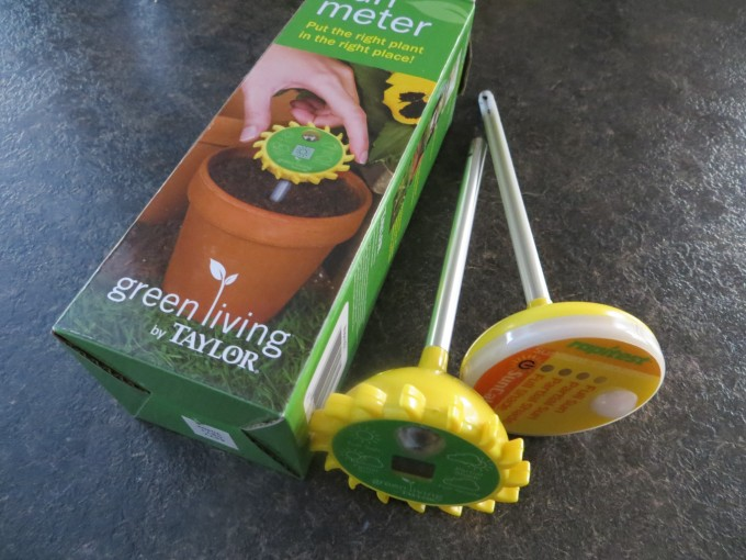 Purchase a sun meter or two to measure the sunshine in your veggie patch