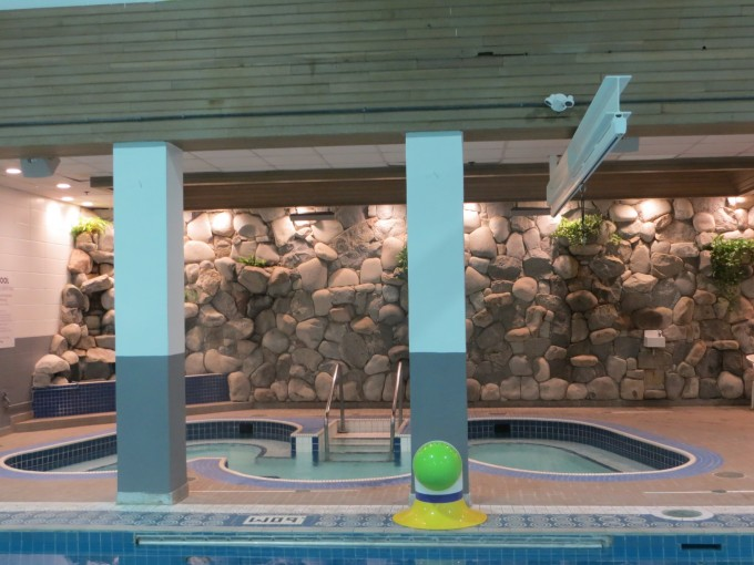 There are other facilities to enjoy at the pool - perhaps a sauna or hot tub