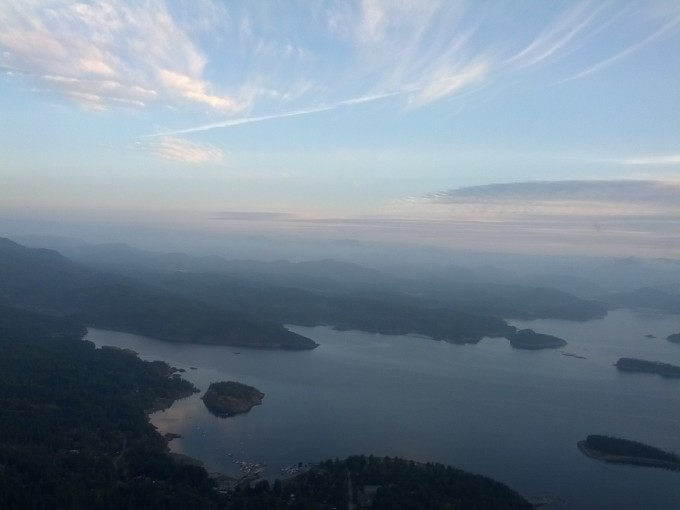 Toba Inlet - Desolation Sound from the air ~ Guest photo