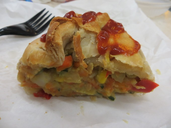 A great lunch at any time - a tasty Australian homemade pasty
