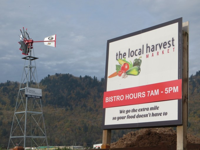 The Local Harvest market and farm, Chilliwack, B.C.