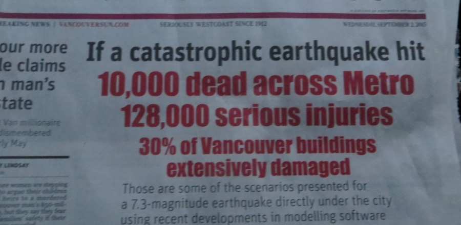 Earthquake Emergency – Are You Prepared