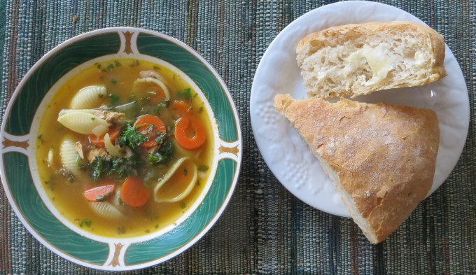 Sourdough & soup