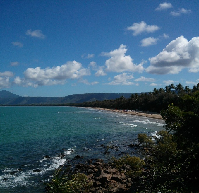 Beautiful ocean views around every corner - near Pt. Douglas, Queensland