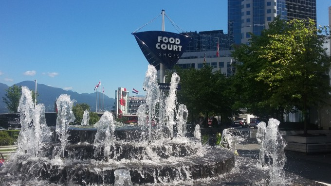 Food Court Fountain
