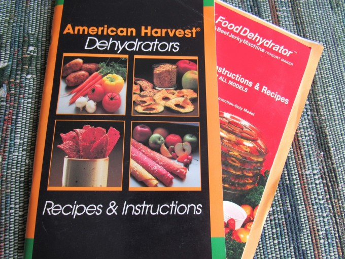 Food Dehydrator manuals