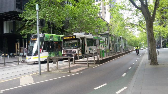 Regular Melbourne trams