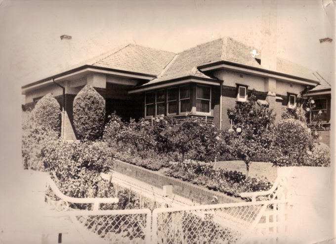 Grandparents home - Burke Rd Camberwell 1950's