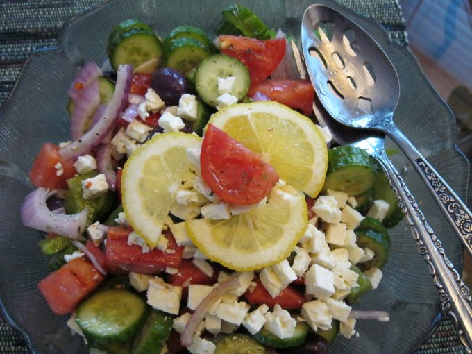 Favourite Greek salad anytime