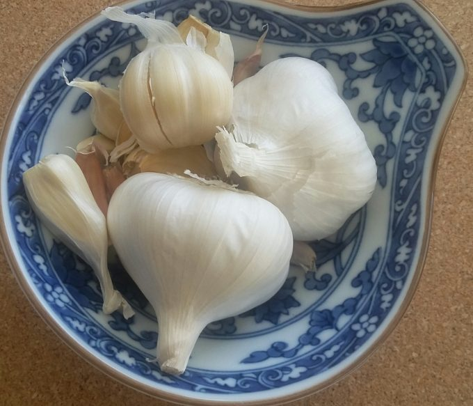Fresh organic garlic - great!