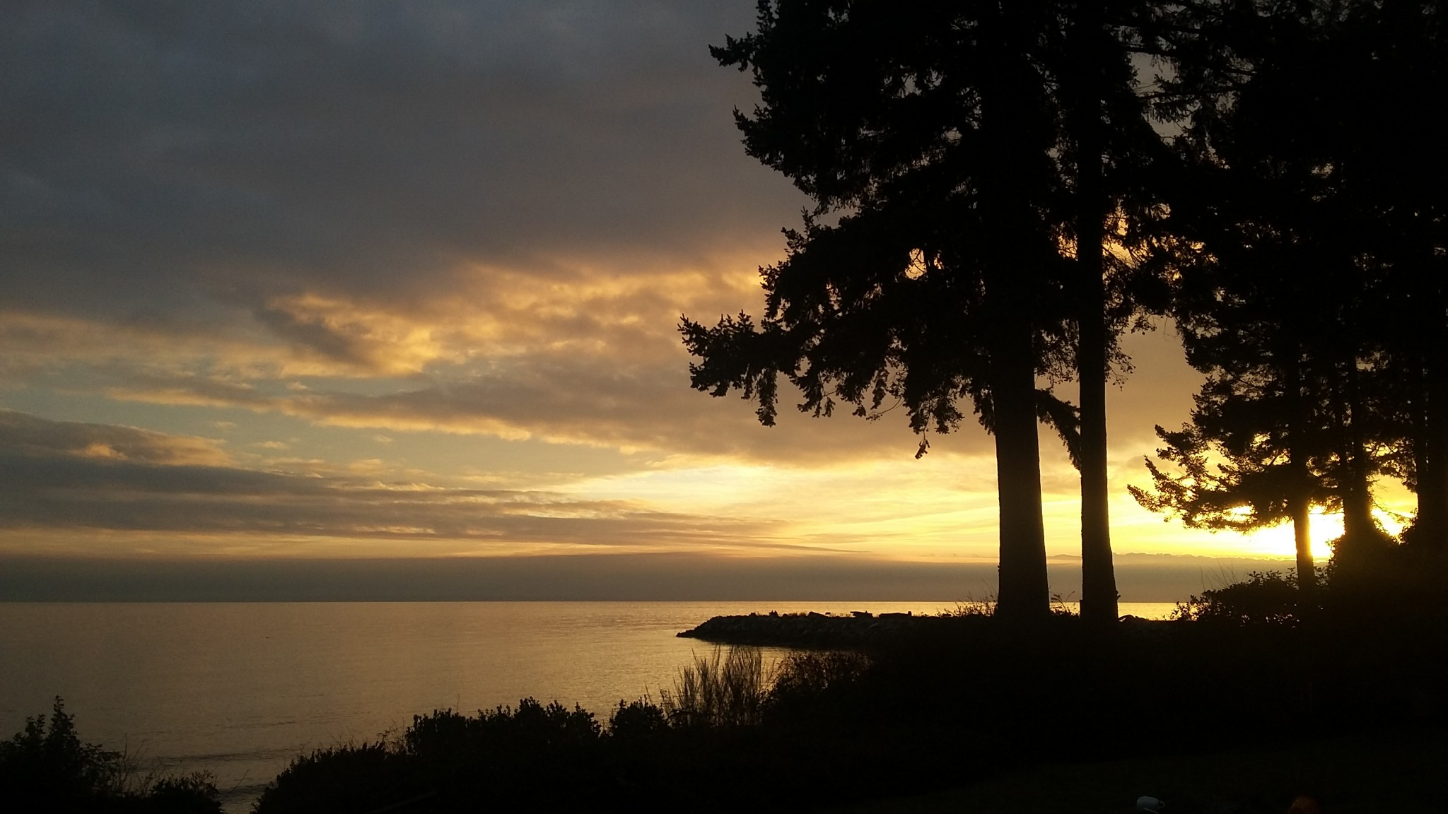 Sunset BC West Coast