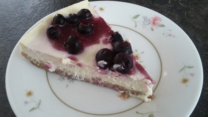 Super easy cheesecake