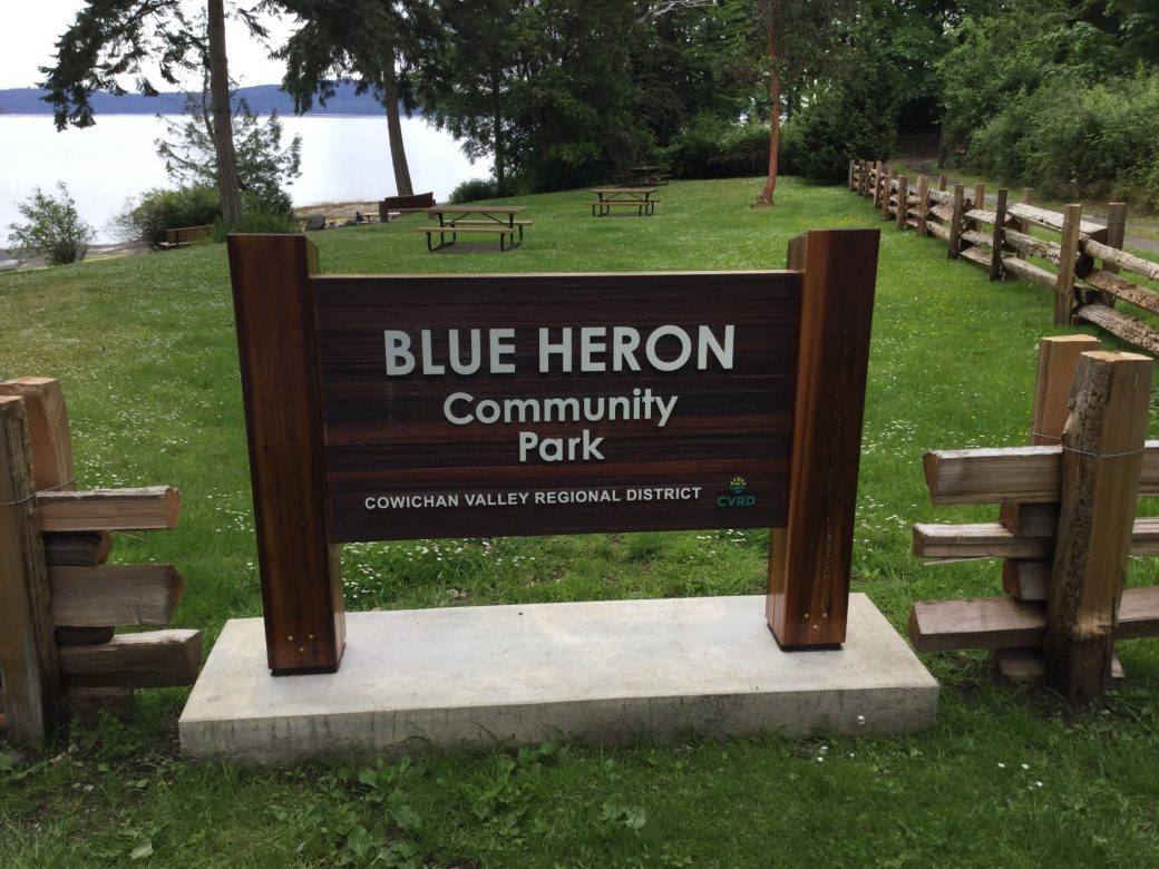 Blue Heron Community Park        - Cowichan Valley