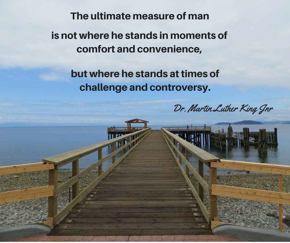 The ultimate measure of man