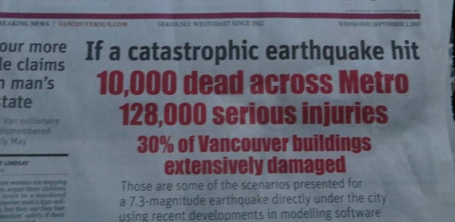 Earthquake Emergency – Are You Prepared