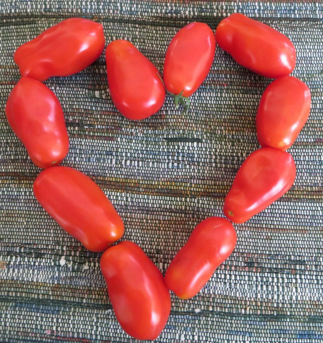 We love tomatoes